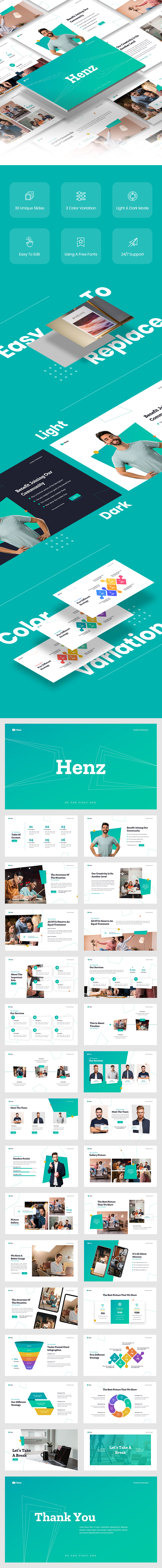 Henz Business Keynote Template