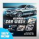Car Wash Social Media Promotion Ads - GraphicRiver Item for Sale