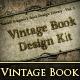 Vintage Book Design Kit - GraphicRiver Item for Sale