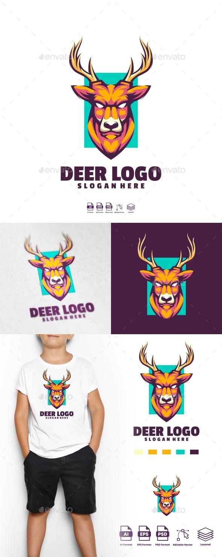 Deer logo Templates