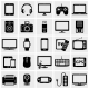 Modern Digital Devices Icons - GraphicRiver Item for Sale