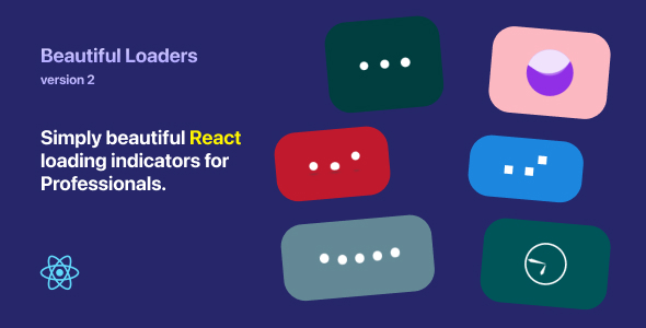 Beautiful Loaders 2 - React loading indicators