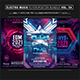 2021 NYE Music Festival Photoshop Flyer Template - GraphicRiver Item for Sale