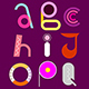 Abstract Font Design - GraphicRiver Item for Sale