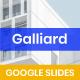 Galliard Finance - Google Slides - GraphicRiver Item for Sale