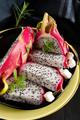 Pitaya sliced - PhotoDune Item for Sale