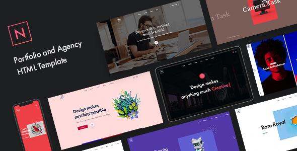 Niro - Creative Portfolio & Agency HTML5 Template