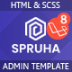 Spruha - Laravel Admin & Dashboard Template - ThemeForest Item for Sale