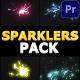 Sparklers Pack | Premiere Pro MOGRT