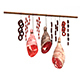 3D meats and sausages model - 3DOcean Item for Sale