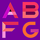 Decorative Geometric Font - GraphicRiver Item for Sale