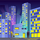 Game Background City Night - GraphicRiver Item for Sale