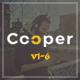 Cooper - Creative  Responsive Personal  Portfolio - ThemeForest Item for Sale