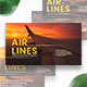 Aviation Airlines Facebook Marketing Materials - GraphicRiver Item for Sale