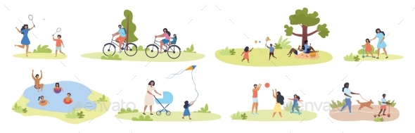 Large Set of Summer Family Activities