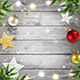 Christmas Background with Christmas Decorations - GraphicRiver Item for Sale
