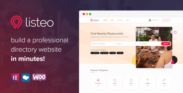 Listeo – Directory & Listings With Booking – WordPress Theme
