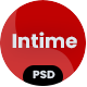 intime - Business and Consulting PSD Template - ThemeForest Item for Sale