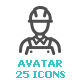 Avatar Mini Icon - GraphicRiver Item for Sale