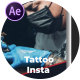 Instagram Stories Tattoo - VideoHive Item for Sale