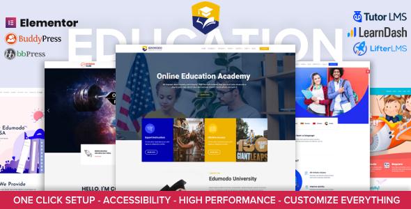 Education WordPress Theme | Edumodo