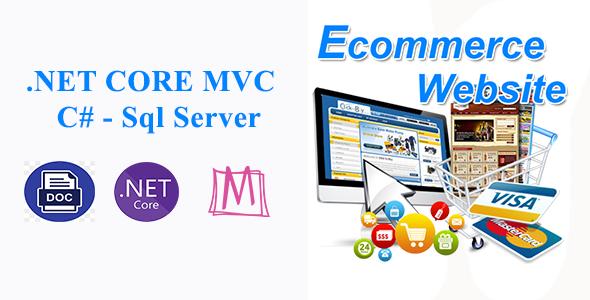 FStore - Full Ecommerce Website With Microsoft .NET CORE