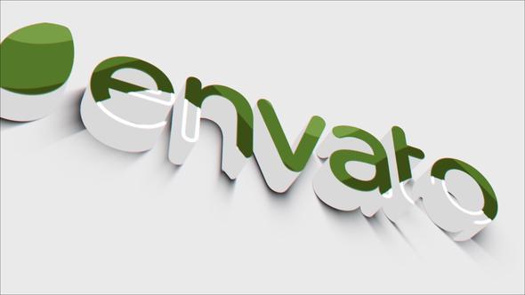3D Clean Logo Reveal