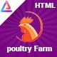 PoultryFarm - Organic Poultry HTML Template. - ThemeForest Item for Sale