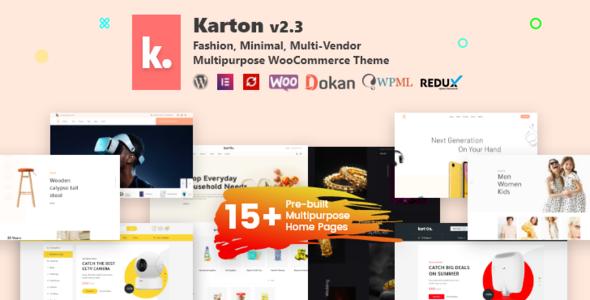 Karton   Multipurpose WooCommerce Theme