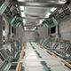 Sci-Fi Modular Corridor with Door Ver 2 - Low Poly - 3DOcean Item for Sale