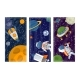 Space Science Man in Universe Galaxy Banner - GraphicRiver Item for Sale