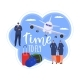 Travel at Plane People in Journey Concept Vector - GraphicRiver Item for Sale