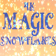 4k Magic Snowflakes - VideoHive Item for Sale