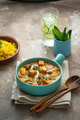 Indian style meal pumpkin curry with chicken and rice - PhotoDune Item for Sale