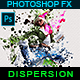 Splatter Dispersion - Photoshop Action - GraphicRiver Item for Sale