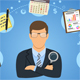 Auditing, Tax Process, Accounting Concept - GraphicRiver Item for Sale