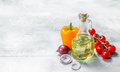 Organic food. Ripe vegetables with olive oil. - PhotoDune Item for Sale