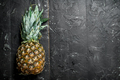 One fresh ripe pineapple. - PhotoDune Item for Sale