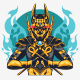 Gods King Logo - GraphicRiver Item for Sale