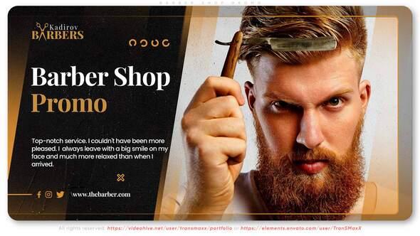 Barber Shop Promo
