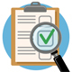 Audit and Test Flat Icon - GraphicRiver Item for Sale