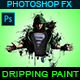Dripping Painting - Photoshop Action - GraphicRiver Item for Sale