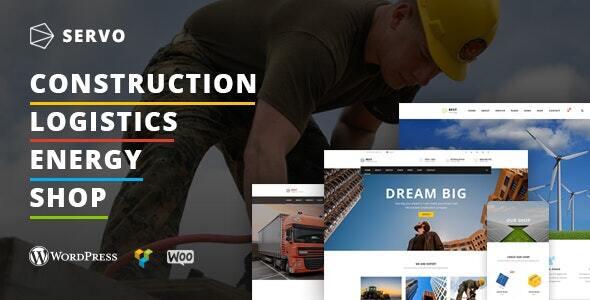 Servo - Industry & Construction theme