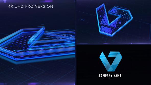 Digital Logo Reveal
