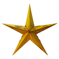 Old rusted five-pointed yellow metal star - PhotoDune Item for Sale