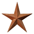 Old rusted five-pointed metal star - PhotoDune Item for Sale