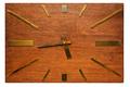 Old retro rectangular wall clock - PhotoDune Item for Sale