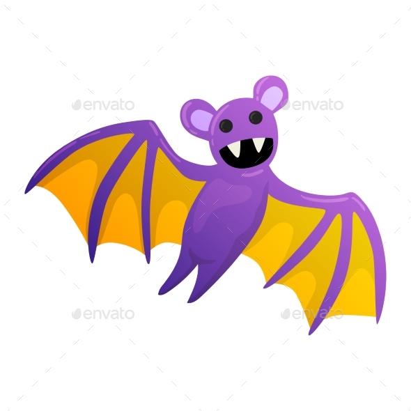 Halloween Bat Illustration