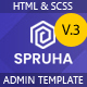 Spruha - HTML Dashboard Template - ThemeForest Item for Sale