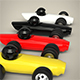 Racing Toy Car Set - 3DOcean Item for Sale